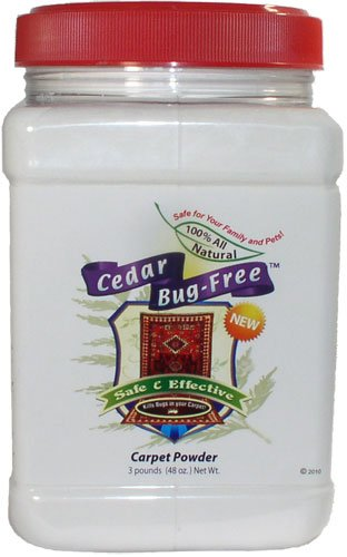 Flea Powder For Carpets Cedar Bug Free Carpet Powder Kills Fleas Ticks And Bed Bugs 3 Pounds