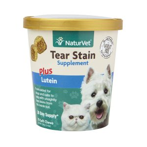 NaturVet Tear Stain plus Lutein Soft Chew